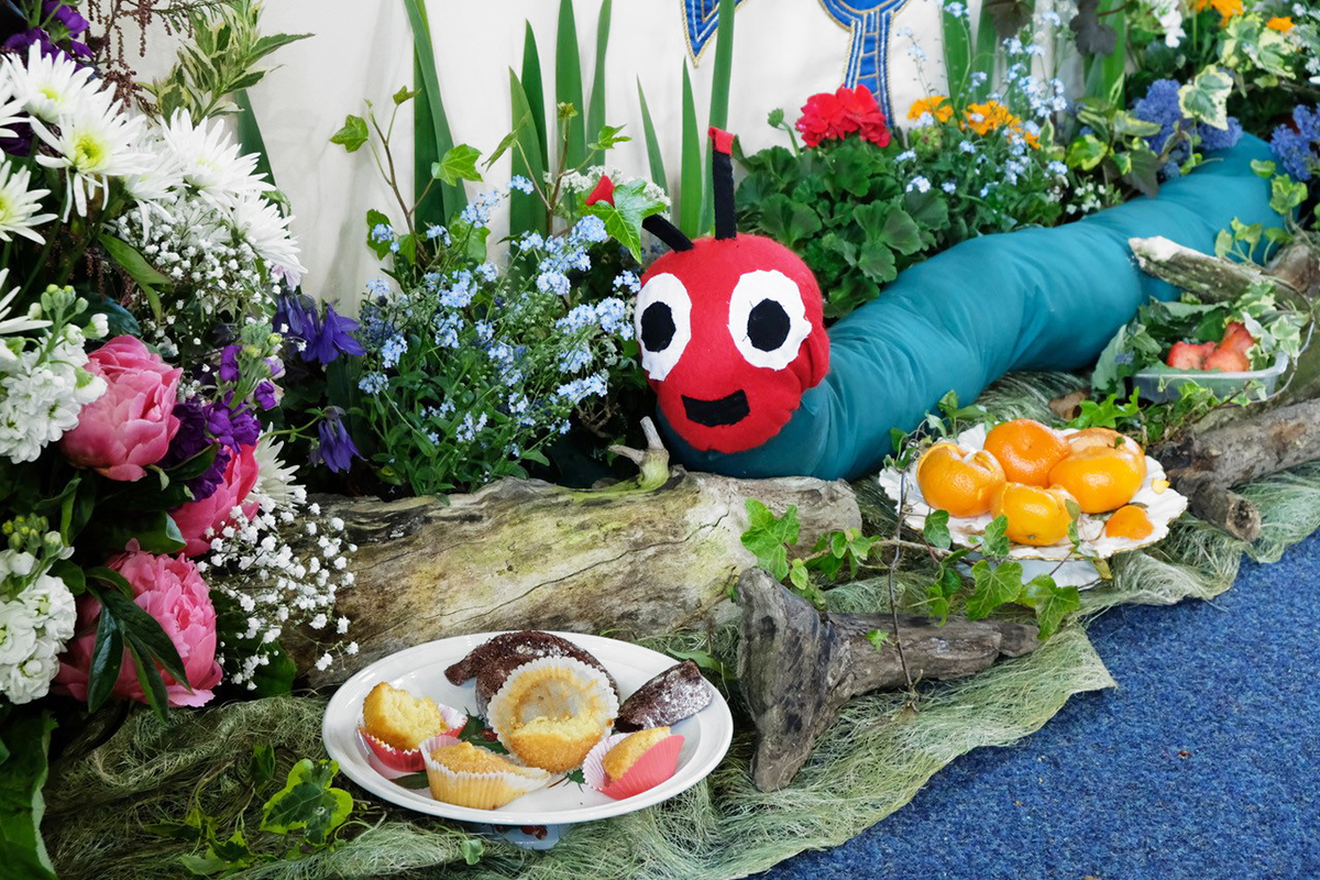 Flower Festival - Hungry Caterpillar